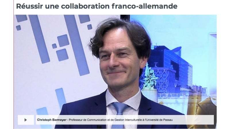 Deutsch-Französisches Management Prof. Dr. Christoph Barmeyer